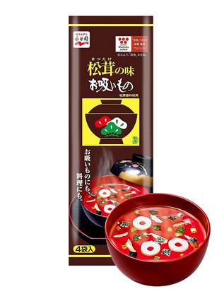 Sopa de Bonito y Setas Matsutake 4 Unidades