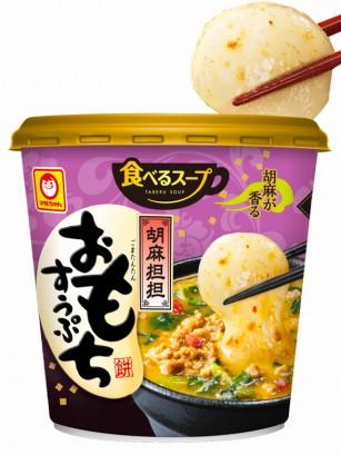 Sopa de Cerdo y Miso con Mochi y Sésamo Negro 43 grs.