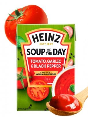 Sopa de Tomate con Ajo y Pimienta Negra | Heinz 400 grs.