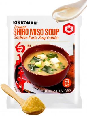 Sopa instantánea de Miso Blanco y Alga Wakame