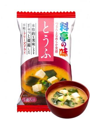 Sopa Liofilizada de Miso, Tofu y Algas 9 grs