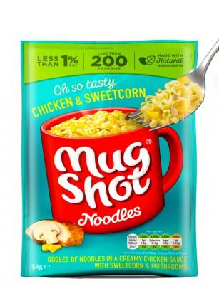 Noodlesen Taza con Pollo, Maíz y Champiñones 54 grs