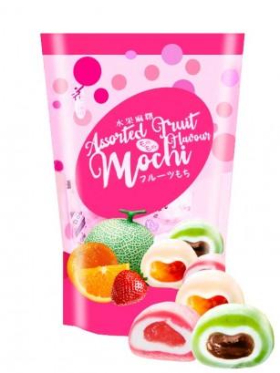 Surtido Mochis de Frutas | Fresa, Naranja y Melón Hami | Love 120 grs.