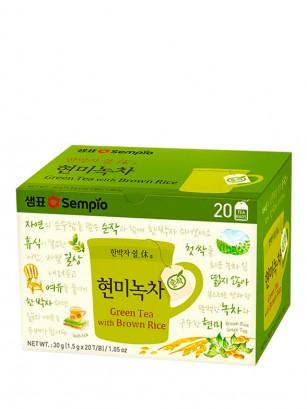 Té Verde Coreano con Arroz en Infusión 20 Bolsitas