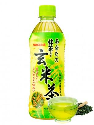 Té Verde Matcha con Arroz Tostado Genmaicha 500 ml.
