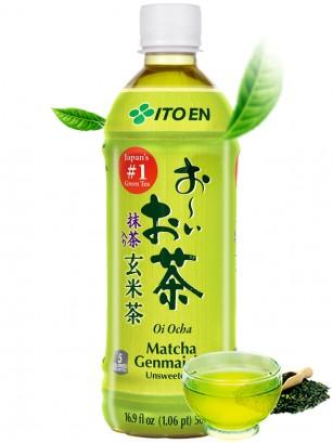 Té Verde Genmaicha Sin Azúcar | 500 ml.