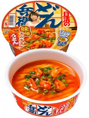 Fideos Udon Donburi de Miso y Kimchi | Receta de Riho Yoshioka 81 grs.