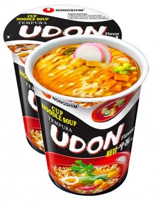 Fideos Udon Coreanos con Tempura y Naruto | Cup Edition