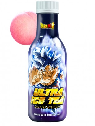 Té Helado de Melocotón Dragon Ball Z Ultra | Goku 500 ml