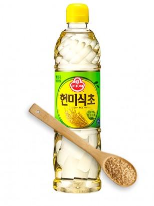 Vinagre Coreano Arroz Integral 500 ml