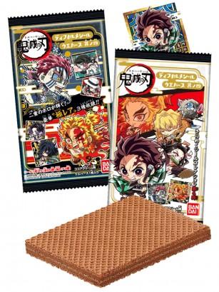 Wafer Doble Chocolate | Kimetsu no Yaiba Deformed Seal | 2 Diseños Aleatorios