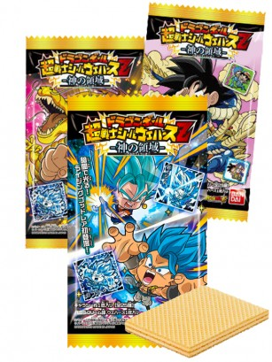 Waffers de Chocolate | Dragon Ball Super Warriors Z | 3 Diseños Diferentes