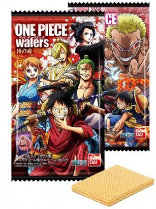 Waffers de Vainilla | One Piece | Samurai No Kuni | 2 Diseños Diferentes