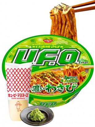 Fideos Yakisoba UFO con Mayonesa Wasabi 112 grs.
