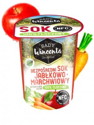 Zumo de Manzana y Zanahoria de Campiña 200 ml.
