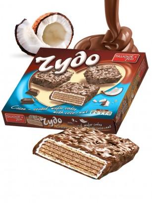 Pasteles de Barquillo Chocolate y Coco 200 grs