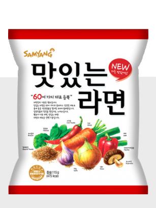 Fideos Ramen Coreanos 60 INGREDIENTES