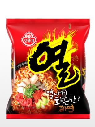 Ramen Coreanos Yeul de Ternera y Pollo | Extra Hot