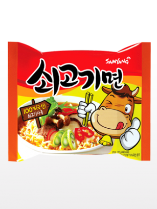 Ramen Coreano de Ternera | Happy Smile