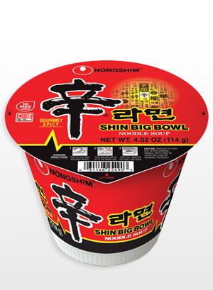 Fideos Ramen Coreanos, Shinramyun | Big Bowl