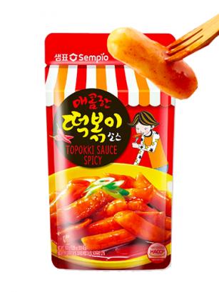Salsa Fresca Coreana Topokki Sabor Picante 150 grs