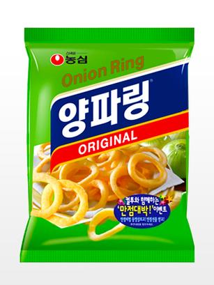 Snack Coreano de Aros de Cebolla