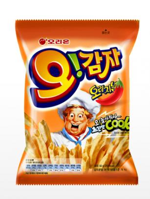 Snack Coreano de Patata con Bechamel Gratinada y Chili