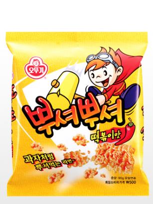 Ramen Snack Coreano de Topokki y Salsa Gochujang 90 grs.