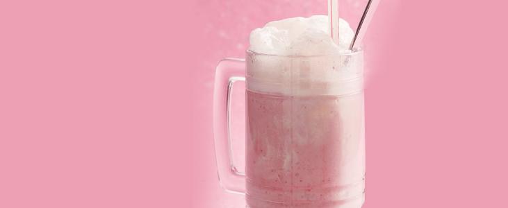 Calpis Soda con Helado de Fresa ❤ Sugerencia