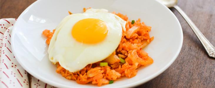 Kimchi Bokkom Bap