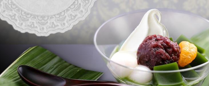 Matcha Ice Cream Anmitsu