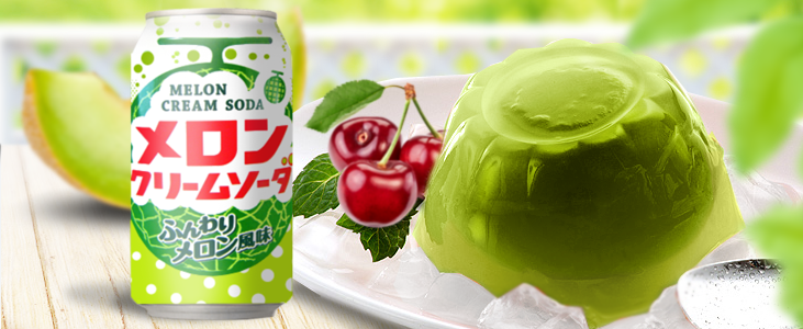 Melon Soda Jelly