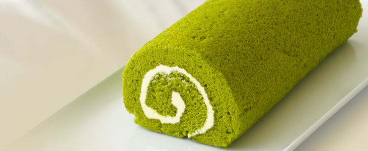 Matcha Azuki Roll