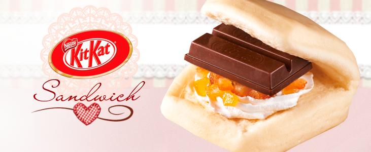 Kit Kat Sandwich