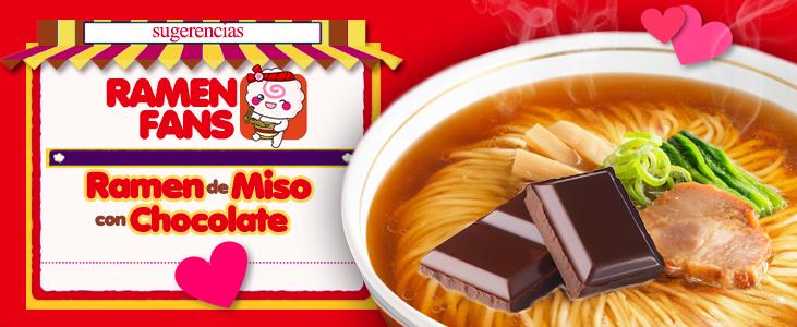 Ramen de Miso con Chocolate